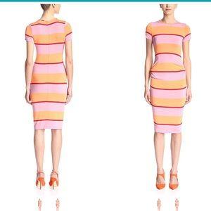 Christian Siriano Stripe Dress